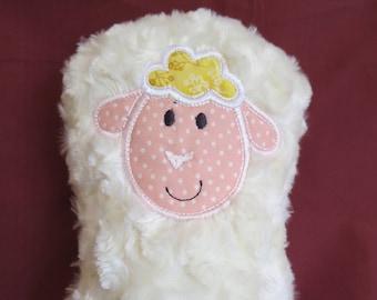 Lamb soft toy / plush lamb / baby toy / stocking stuffer/plushie.