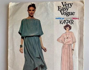 b76e0367f1778 70s Kasper Vogue American Designer Original pattern number 1956