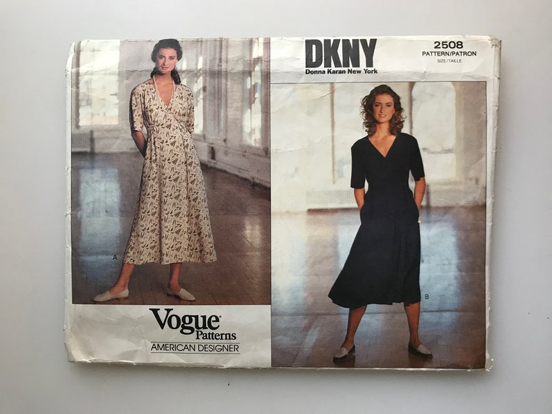04ae203272087 90s DKNY sewing pattern | Etsy