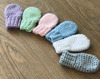 Thumbless Mittens Etsy