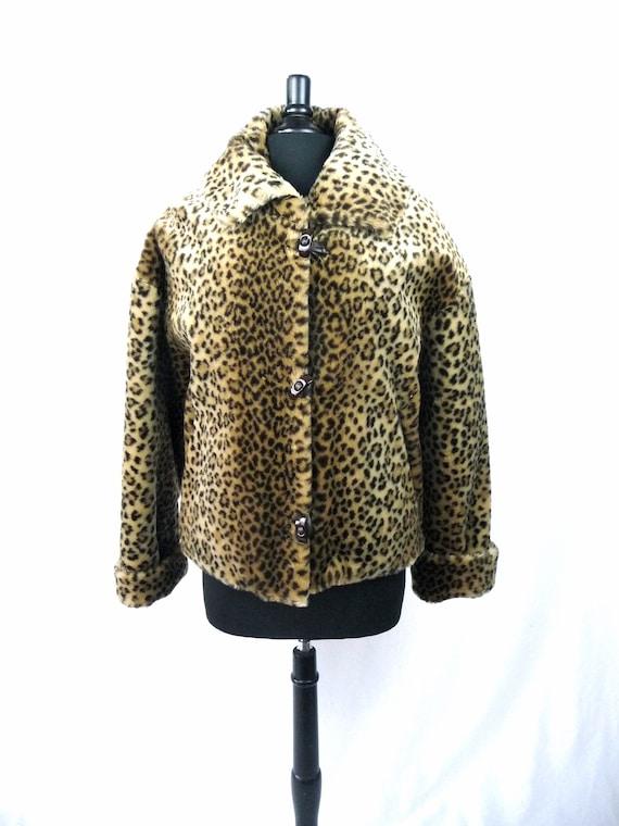 Vintage Faux Fur Coat (1980s)