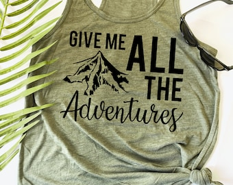 Hobbit Lord of the Rings Inspired Women/'s Ideal Tank Give me ALL of the Adventures Elevenses The Hobbit Bilbo Baggins The Shire