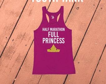 Disney Run shirt Jasmine Princess Half Marathon Full Princess Choose Your Princess Women/'s Racerback Running Tech Tank Half Marathon