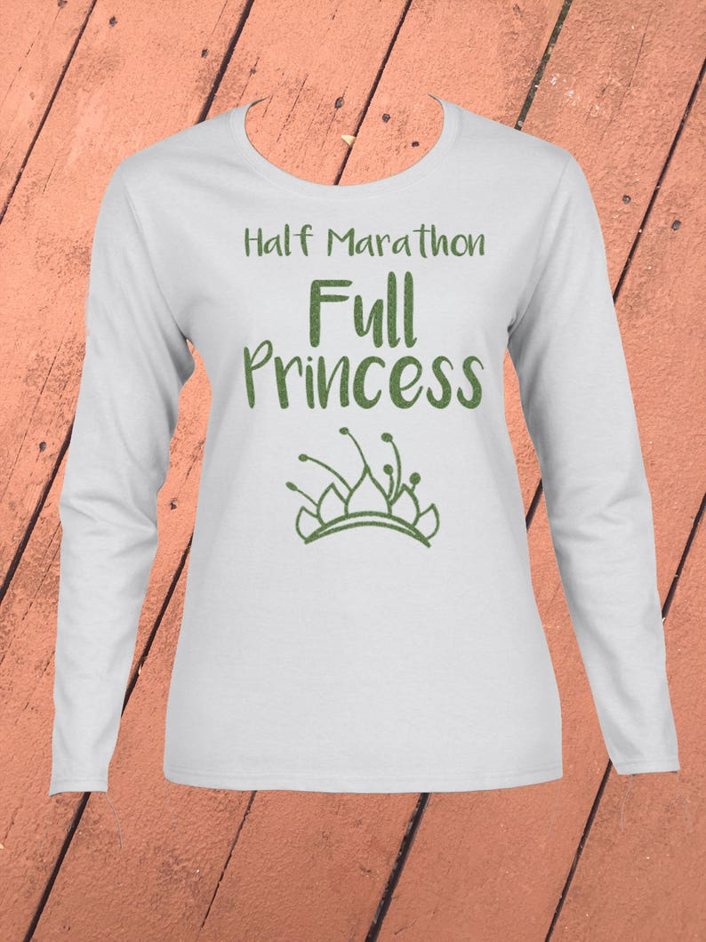 d91e20bc Disney Run shirt Half Marathon Full Princess-Choose Your | Etsy