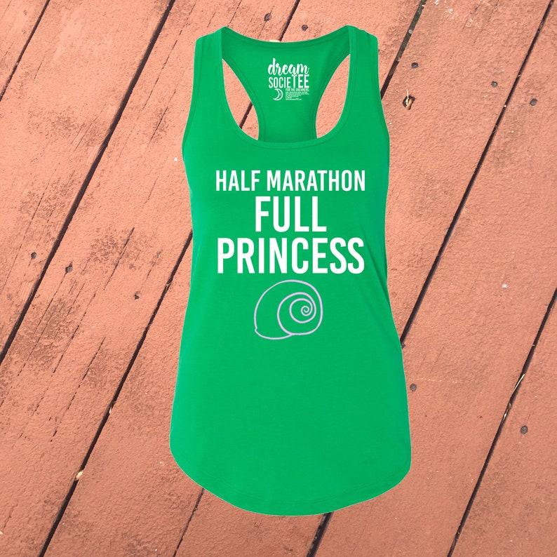 754fb763fc Half Marathon Full Princess Princess Women's Disney | Etsy