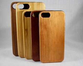 Bois iPhone 7/7Plus Samsung 8 / 8 + étui