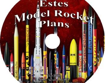 53 Estes Catalogs Model Rocketry on DVD Rockets Books Tools