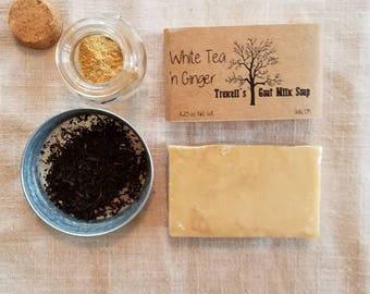 White Tea 'n Ginger -Goat Milk Soap