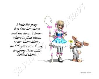 Nursery Rhyme - Little Bo Peep