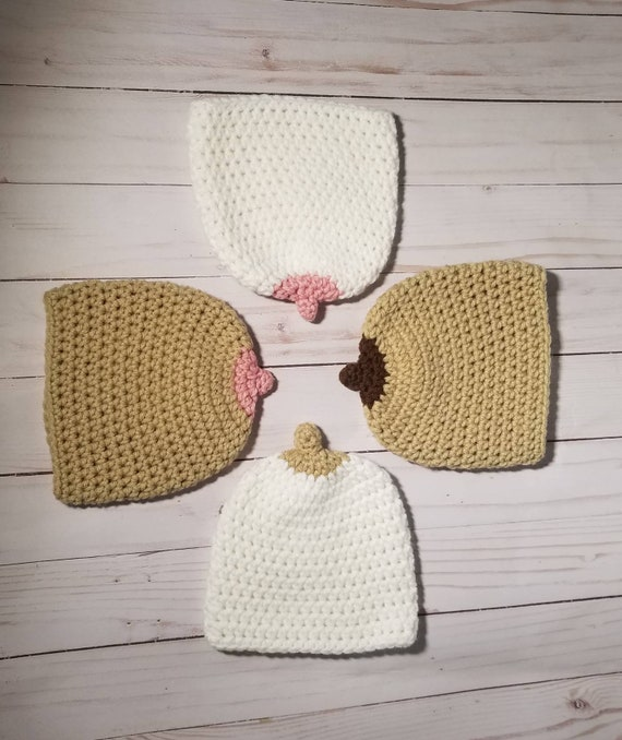 0b4d97abc35 Breast hat breast feeding hat boob hat pro breastfeeding