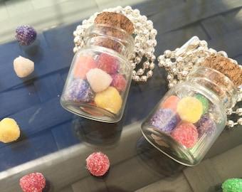 Miniature Bottle Gumdrop Necklace