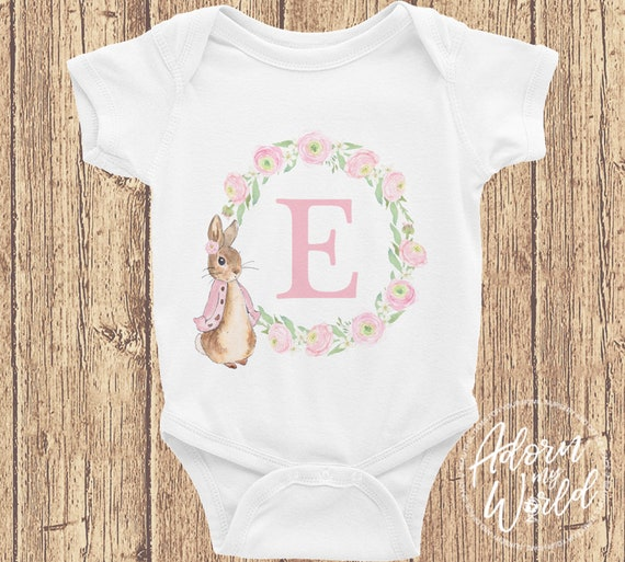 personalised peter rabbit vest perfect gift baby shower  baby girl new baby