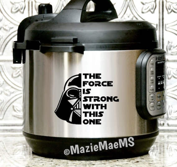 638d7d2fc THE FORCE IS Strong / Star Wars Jedi Instant Pot Decals | Etsy