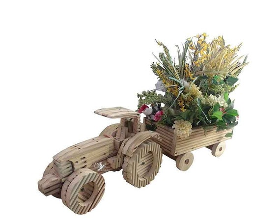 Tractor and Trailer Planter