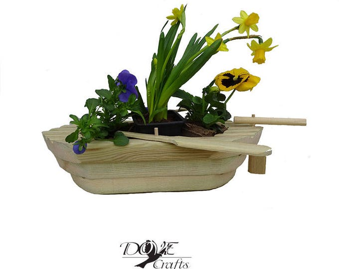 Rowing Boat Planter