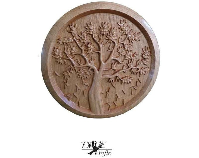 Art of carving on Oak wood