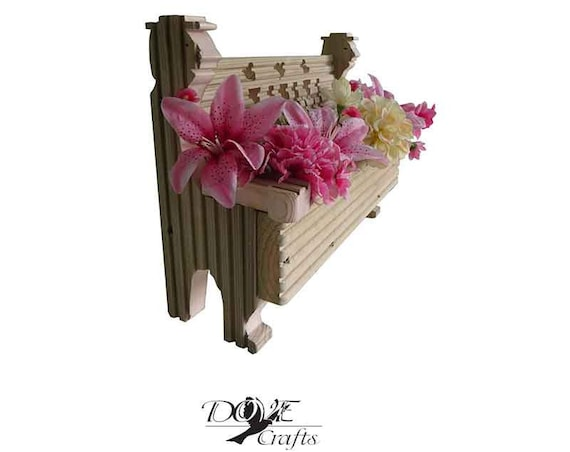 Bench Planter Personalised and Shape of Characters