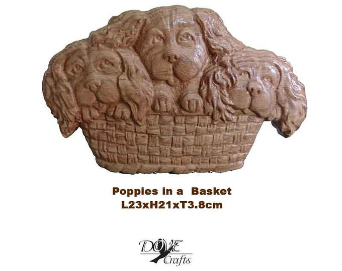 Dogs and Animals Carving on Oak wood, Art of Carving