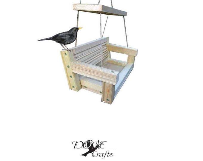 Garden Bench Bird feeder