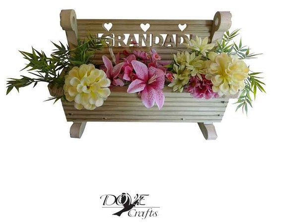Rocking Bench Planter with personalisation