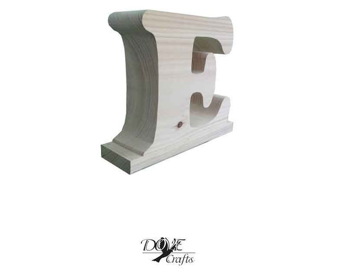 Large Letters Hand Crafted