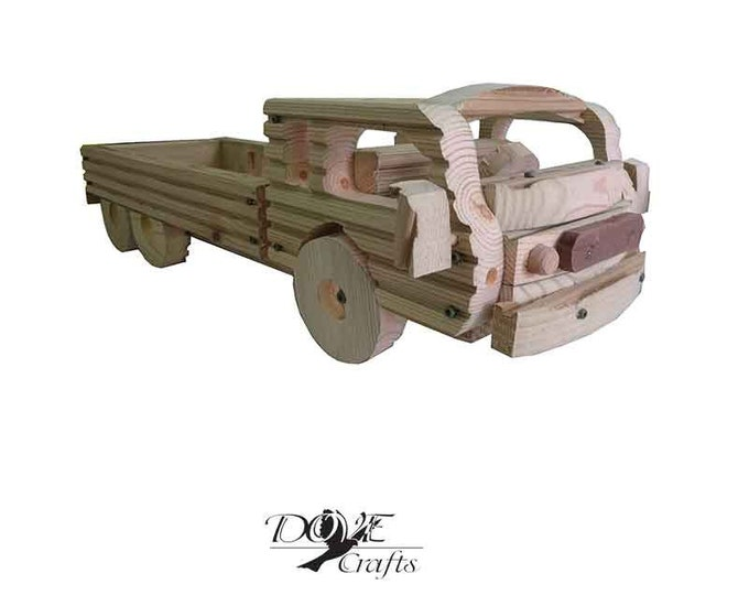 Flat-Bed Lorry Planter, Hand Crafted**No Christmas Guarantee**
