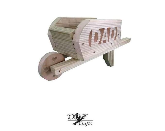 Wheelbarrow Planter Hand Crafted