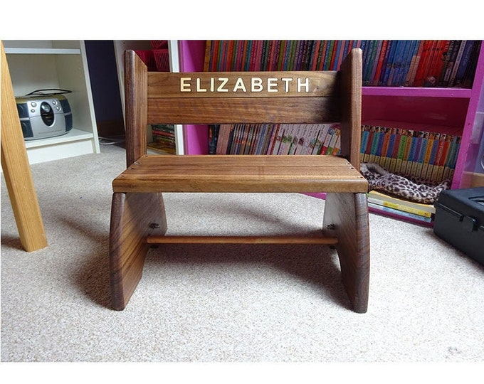 Step Stool With personalised inlay