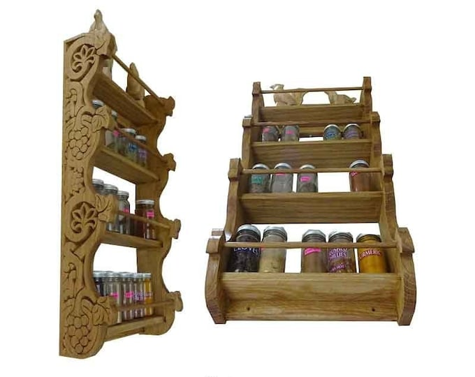 Spices Wall Mounted Shelf