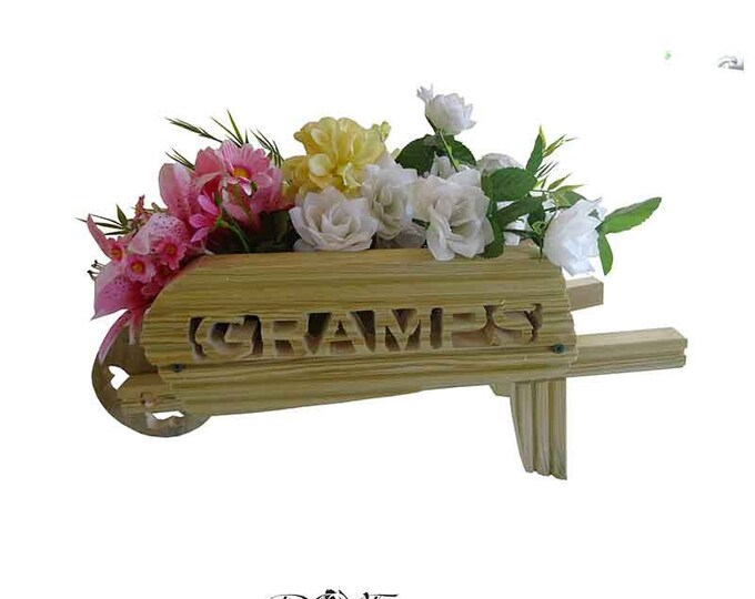 Wheelbarrow Planter Large (can't be delivered for Fathers Day)