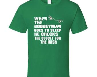 Boogeyman Irish T Shirt St Patrick Day Shirt St Patricks Day Shamrock Shirt Irish Shirt St Patricks Shirt St Pattys Day St Pattys Day Shirt