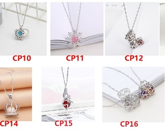 ab4f5ab85a5c 1 PCS Sterling Silver Cages Pendant