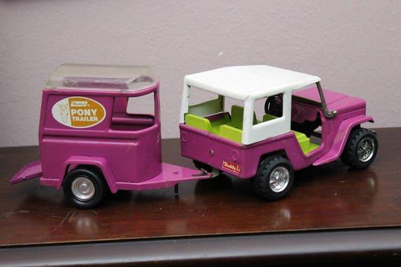 Des L Violet Rod Jeep Remorque Hot Cheval Voiture Années Poney Buddy 1lKcJF