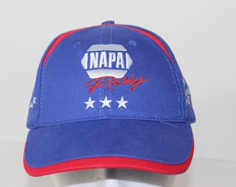 0840be276eb Vintage Napa Racing Napa Auto Parts Intrepid Fallen Heroes Fund Original Baseball  Trucker Strapback Blue Hat Cap Embroidered Logo Cap Hat