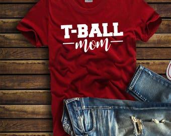T Ball Mom Etsy
