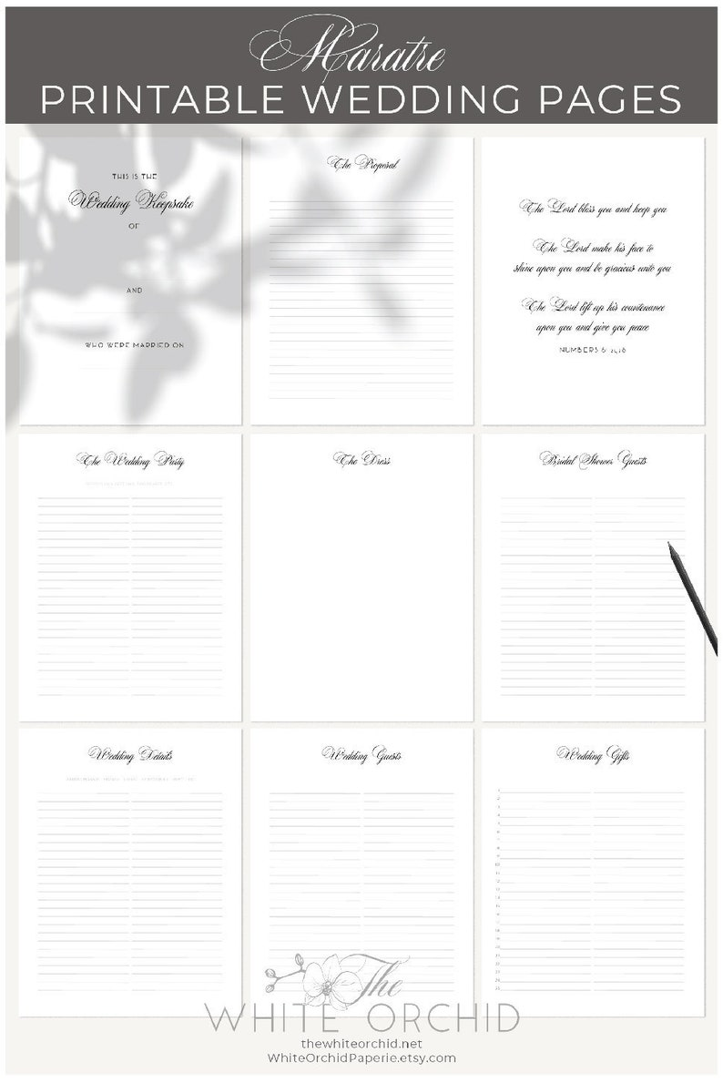 graphic relating to Printable Guest Book Pages referred to as Printable Wedding day Visitor webpages, Wedding day ebook internet pages, Do it yourself Wedding day Memory E book, Maratre Wedding day visitor reserve, PDF obtain, 2-W800