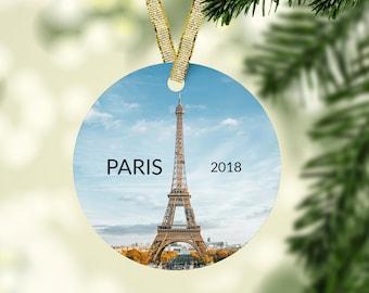 Paris Christmas Ornament.Paris Ornament Etsy