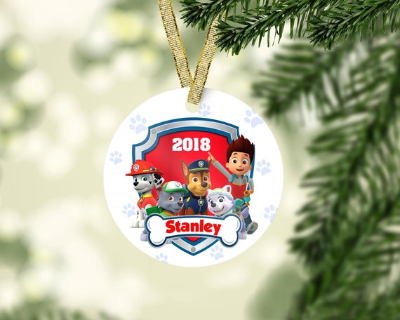 image 0 - Paw Patrol Christmas Decorations