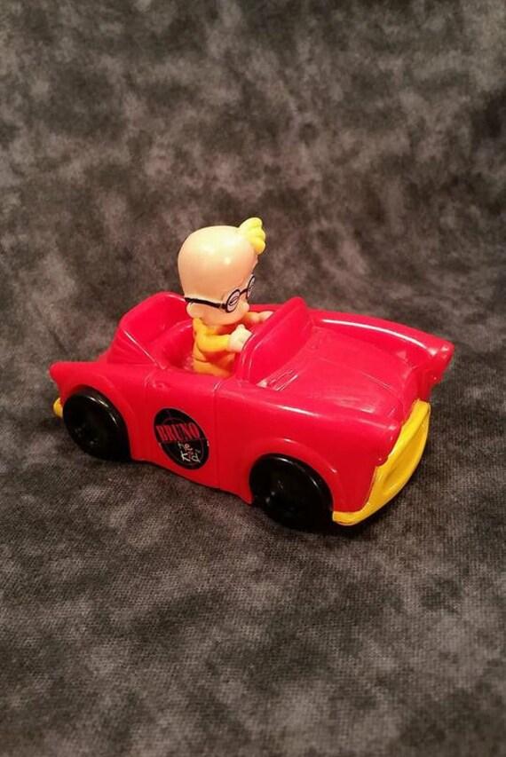 Bruno le Kid / Vintage années 90 / repas enfant Wendy / 1997 jouets