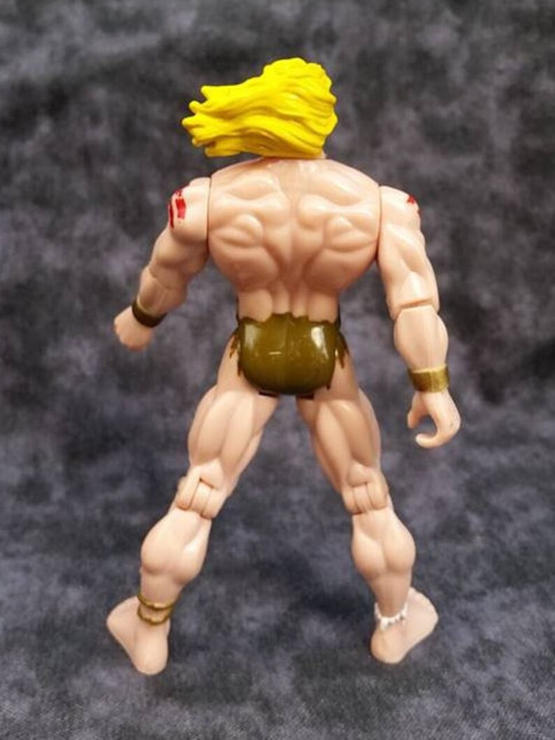 Ka-Zar Action Figure Savage Land Marvel ToyBiz 1997 Vintage 90/'s Action Figure