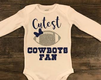Girls shirt- Dallas cowboys onesie
