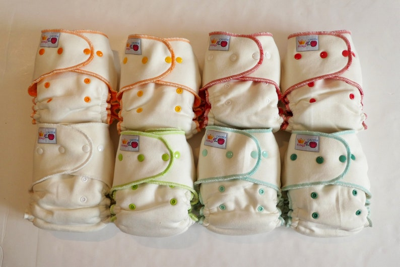 Bamboo Fitted Cloth Diaper via KINGSofmyCASTLE