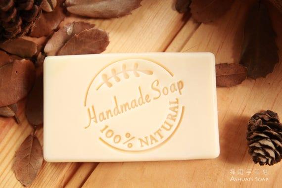 Ashuai Soap Acrylic Stamp A015 Round Emblemfree