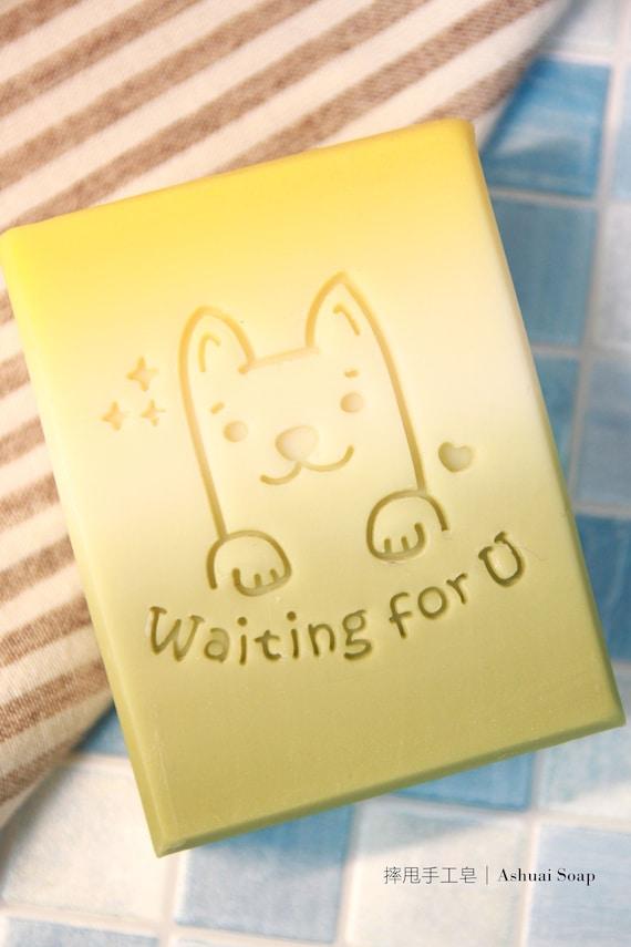 Ashuai Soap Acrylic Stamp A039 Wating
