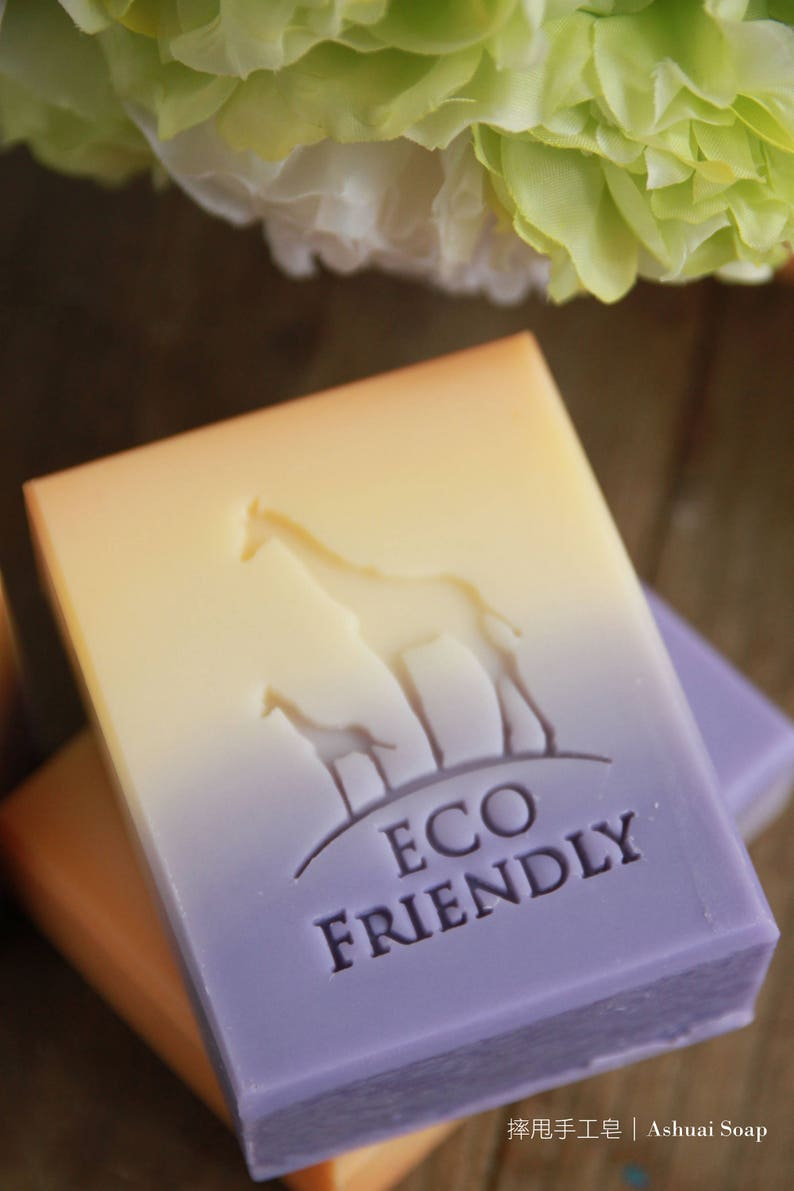 Ashuai Soap Acrylic Stamp A095 Eco Friendly Giraffefree