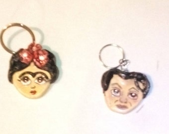 Frida Khalo/Diego Rivera keychains-Keyholders