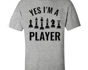 f2a14cb1d5 Chess Player Kids T-Shirt - I'm a Player