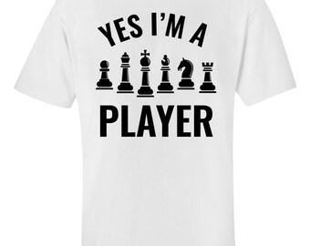 ecc5365f8f Chess Player Joke; funny Pun - Unisex T-Shirt