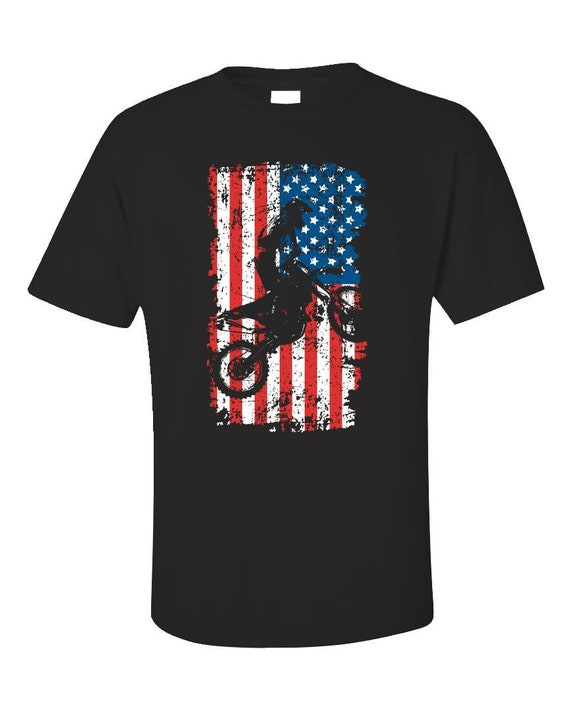 Esprexx Snowmobile American Flag 4th of July Hoodie