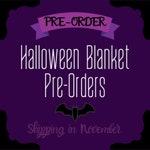 PRE-ORDER Halloween Box Blanket Leftovers